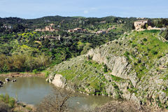 Landscape of Toledo Royalty Free Stock Photos