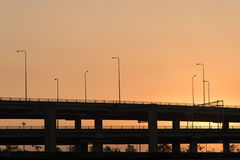 Landscape tollway Royalty Free Stock Photography