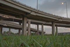 Landscape tollway Stock Image