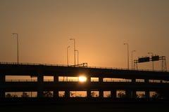 Landscape tollway Stock Photos