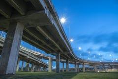 Landscape tollway Stock Photo
