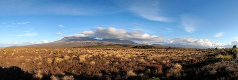 Landscape in the Tongariro National Park Stock Photography