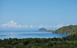 Landscape. Top view on Komodo National Park Indonisia Stock Image