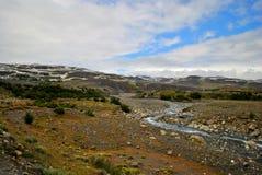 Landscape of Torres del Paine Stock Image