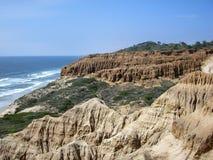 Landscape of Torrey Pines Reserve Stock Image