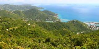 Landscape of Tortola - BVI Royalty Free Stock Images