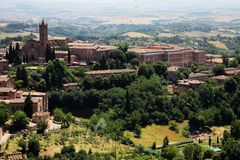 Landscape in toscana royalty free stock images