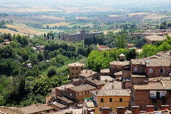 Landscape in toscana Royalty Free Stock Photography
