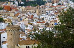 Landscape of Tossa de Mar Stock Photo