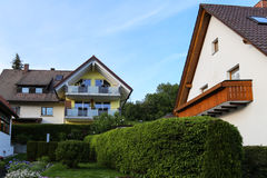 The landscape in a town,frankfurt, germany Stock Photo