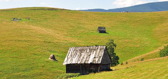 Landscape Transylvania Stock Photo