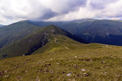 Landscape in Transylvania, Romania Stock Images