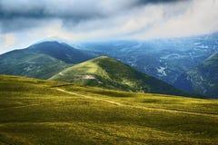 Landscape in Transylvania, Romania Royalty Free Stock Photos