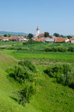 Landscape in Transylvania, Rotbav Stock Photo