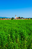 Landscape in Transylvania, Rotbav Royalty Free Stock Photo