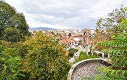 Landscape of Trikala city Thessaly Greece Stock Image