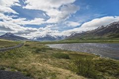 Trollaskagi Peninsula Landscape royalty free stock image