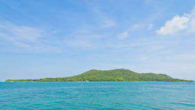 Landscape of tropical island Stock Photography