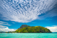 Landscape of tropical island Stock Images
