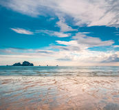Landscape of tropical island Royalty Free Stock Photography