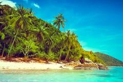 Landscape of tropical island Stock Photo