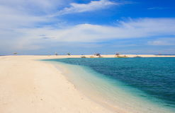 Landscape of tropical island. Camiguin Royalty Free Stock Photography