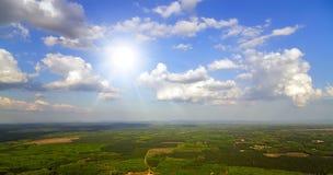 Landscape tropical sunlight Stock Photography