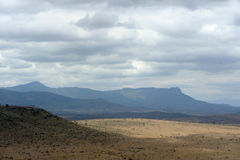 Landscape in Tsavo National Park, Kenya Royalty Free Stock Photo