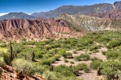 Landscape at Tupiza. Landscape in the area of Tupiza, Bolivia Stock Photo