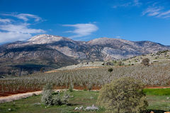 Landscape in Turkey Stock Photography