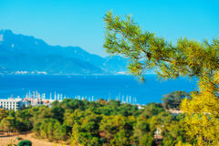 Landscape in Turkey. Royalty Free Stock Photo