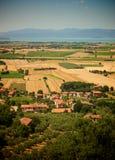 landscape tuscan Стоковые Изображения RF