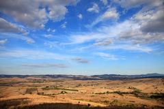 Landscape of Tuscany Royalty Free Stock Images