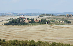 Landscape of tuscany Royalty Free Stock Photos
