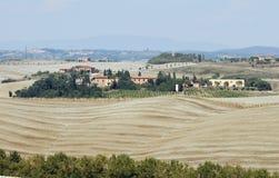 Landscape of tuscany Royalty Free Stock Photos