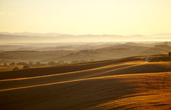 Landscape in Tuscany Stock Photos
