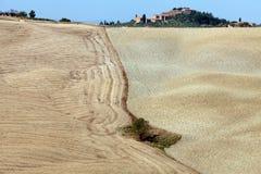 The landscape of the  Tuscany. Crete Senesi - The landscape of the  Tuscany. Italy Stock Image