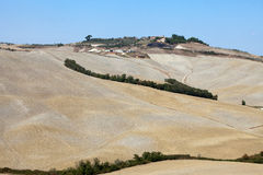 The landscape of the  Tuscany Royalty Free Stock Images