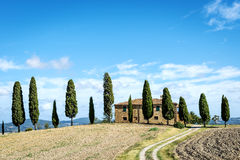 Landscape Tuscany Royalty Free Stock Photography