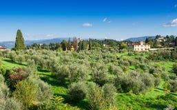 Landscape of Tuscany, Florence Royalty Free Stock Image