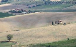 Landscape in Tuscany Royalty Free Stock Photo
