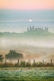 Landscape in Tuscany Stock Images