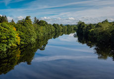 Landscape of the Tweed valley, Scotland Royalty Free Stock Image