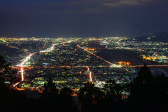 Landscape in the twilight at Seisho region, Kanagawa, Japan Royalty Free Stock Photos