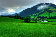 Landscape from Tyrol. Beautiful landscape in Tyrol, Austria Stock Photo