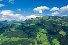 Landscape from Tyrol. Beautiful landscape from Tyrol, Austria Royalty Free Stock Photo