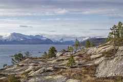 Landscape at Tysfjorden Royalty Free Stock Image
