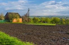 Landscape in Ukrainian country Royalty Free Stock Photos