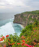 Landscape in Uluwatu Temple Bali Indonesia Royalty Free Stock Photography