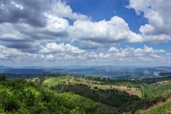 Landscape und -himmel Lizenzfreie Stockbilder